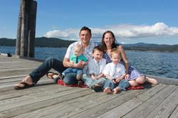McEuen Park family photo shoot