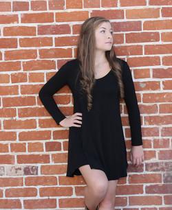 Graduation photo & Brick backdrop
