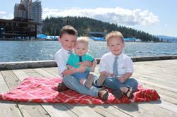 Kids photo shoot at McEuen Park CDA