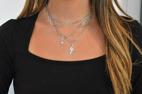 Silver Skies Necklaces