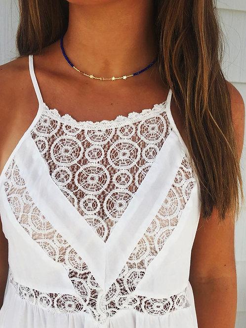 Midnight Crystals Necklace