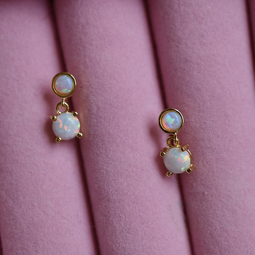 Baby Opal Stud Drops