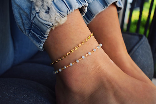 Dune Chain Anklets