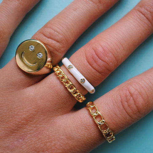Bling Smile Ring
