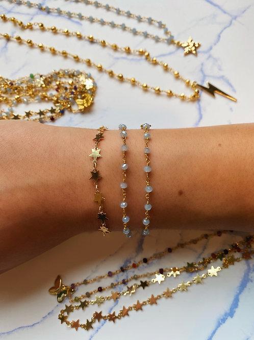 Chain Bouquet Bracelets