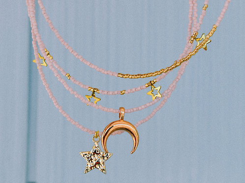Pink Expression Necklaces