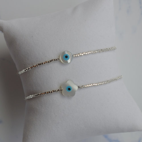 Eye Dream Bracelet - Silver