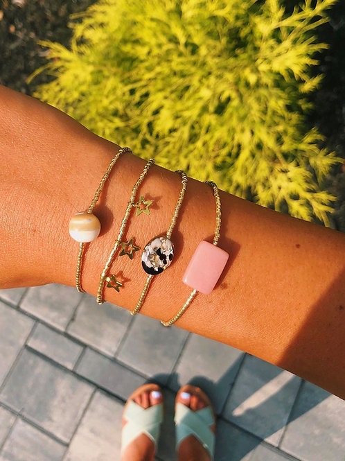 Ivory Marble Bracelet