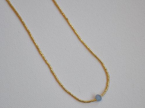 Midnight's Stone Necklace
