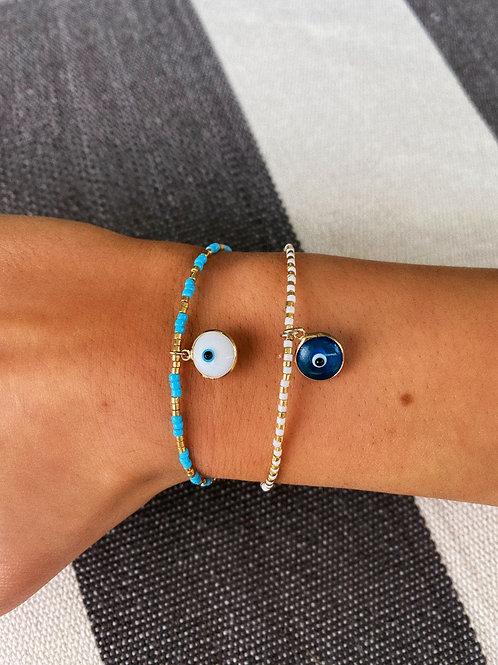 Nicole Evil Eye Bracelets