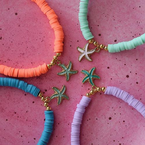 Seastar Anklets