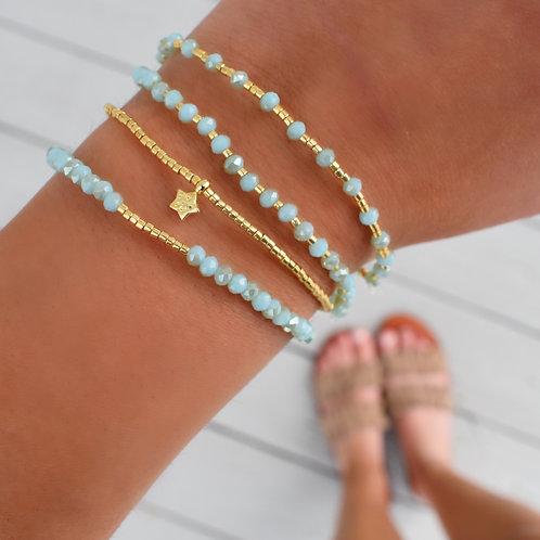 Water Crystal Bracelets