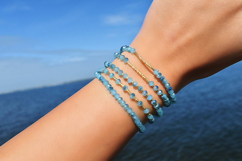 Pacific Crystal Bracelets