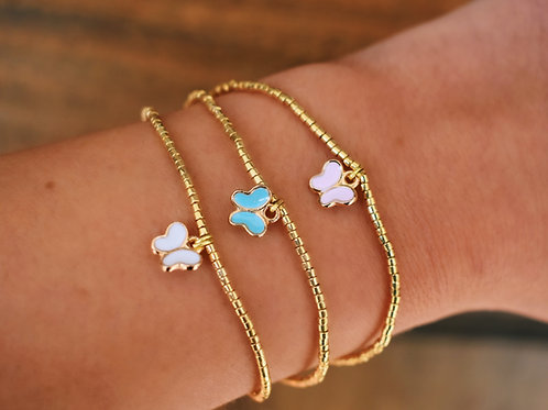 Traditional Delicate Butterfly Bracelet