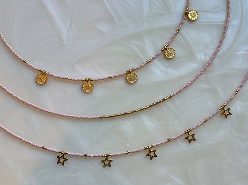 Traditional Baby Pink Chokers
