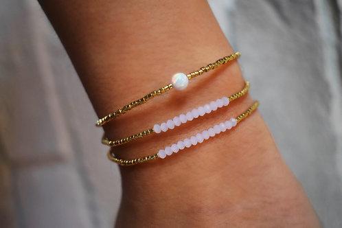 Kate Rose Crystal Bracelets