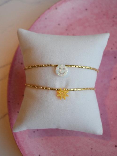 Opal Hug Bracelets