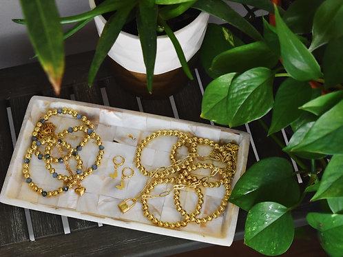 Golden Flutter Hoops