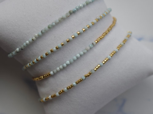 Orchid Bracelets - Gold