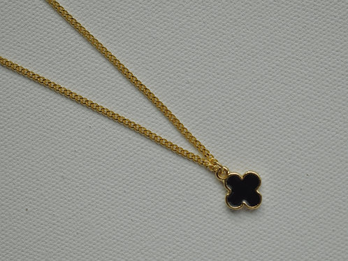 Ink Clover Necklace