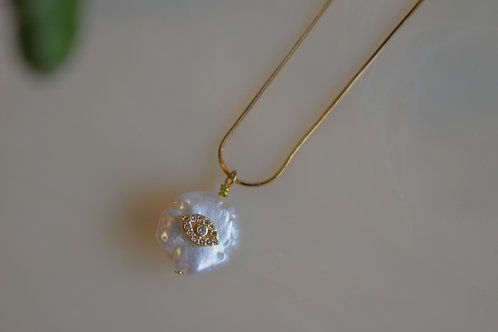 Pearly Eyes Necklace