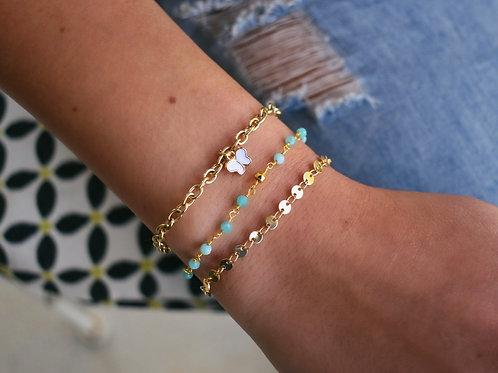 Oak Chain Bracelets