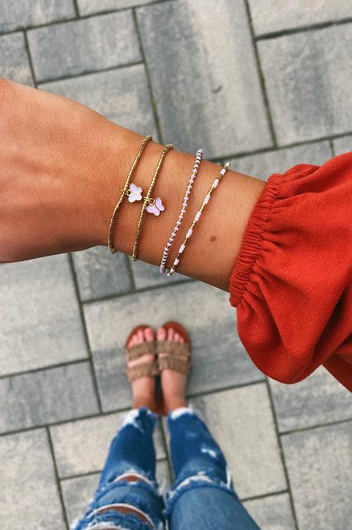Epiphany Ivory & Rose Bracelets