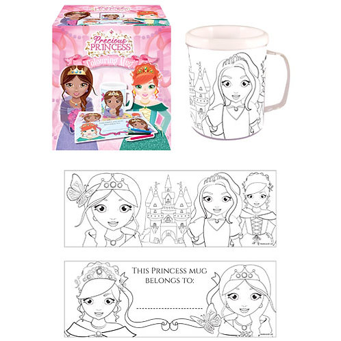 Princess Colouring Mug