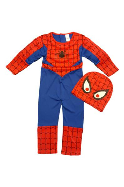 Spider Man Dressing Up Set With a Padded Muscle Look!