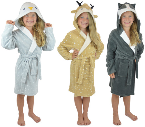 Snuggly Cute Animal Dressing Gowns