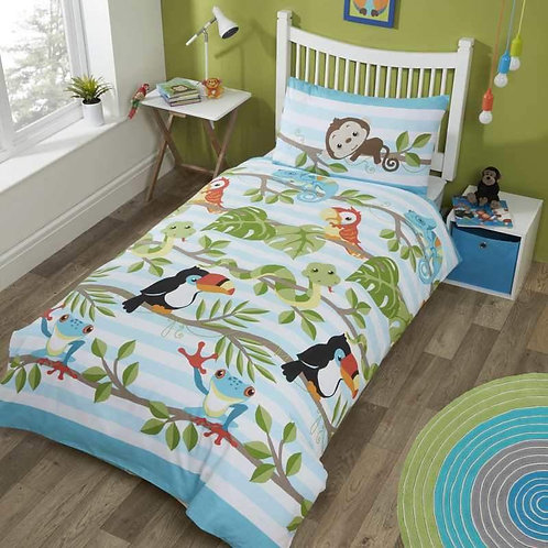 Rainforest Reversible Duvet Set