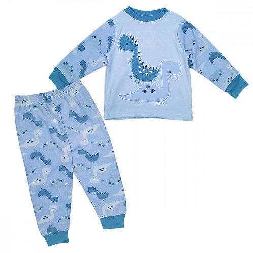 Snuggly Dinosaur Fleece Pyjamas