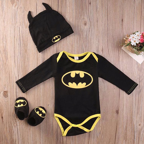Baby Batman Romper Sets
