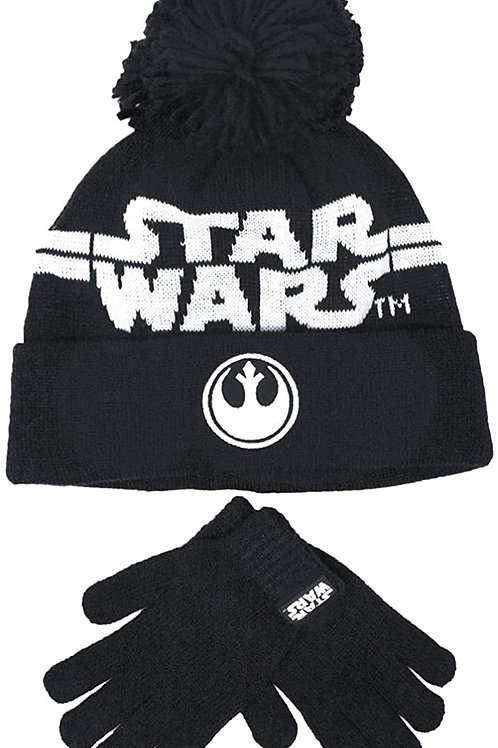 Star Wars Hat and Gloves Set