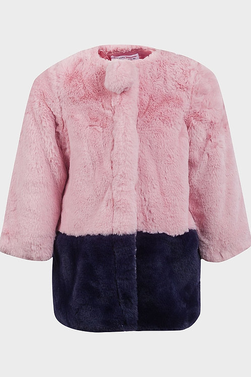 Girls Super Soft Faux Fur Coat