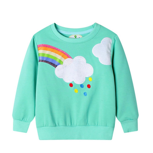 Rainbow and Clouds Jumper