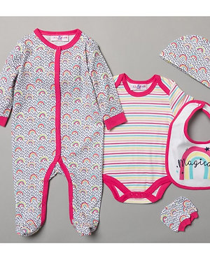 Lily and Jack Rainbow Baby Gift Set