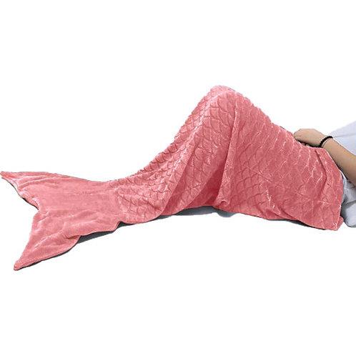 Large Mermaid Fleece Blanket