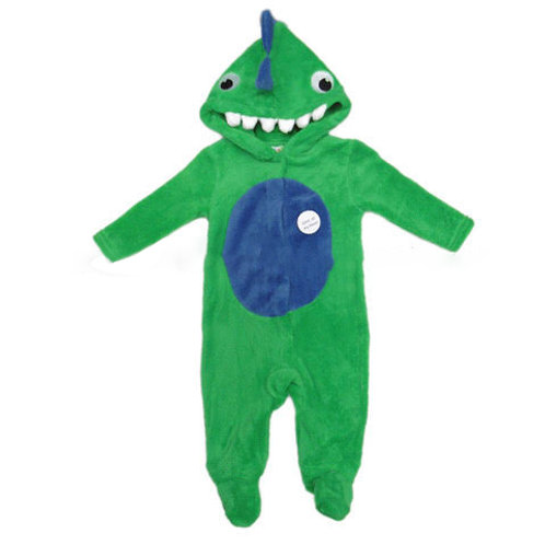 Baby 3D Dinosaur Fleece Onesie / All in One