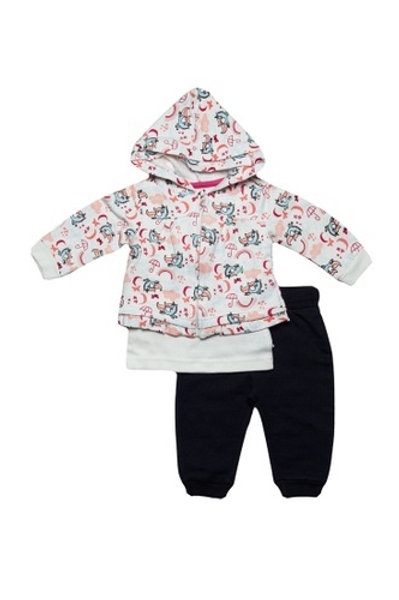 Unicorn 3 Piece Set, Cute Top, Hoodie and Trousers