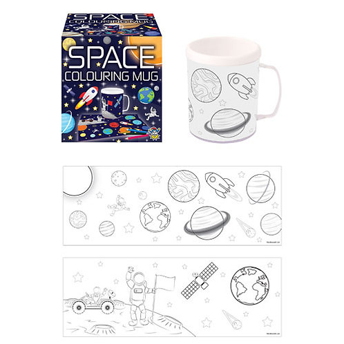 Space Colouring Mug
