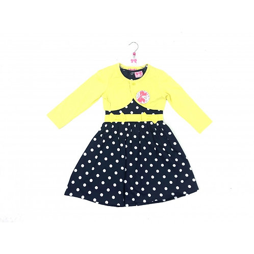 Polka Dot Dress Set with Bolero