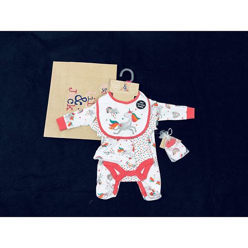 Lily and Jack Unicorn Baby Gift Set