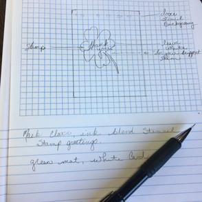 How I Use a Card Sketch