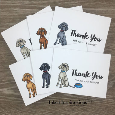Thank You Cards - Heart Fur Animals