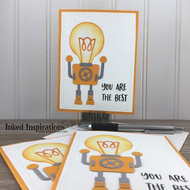 Robot Gift Card Holders