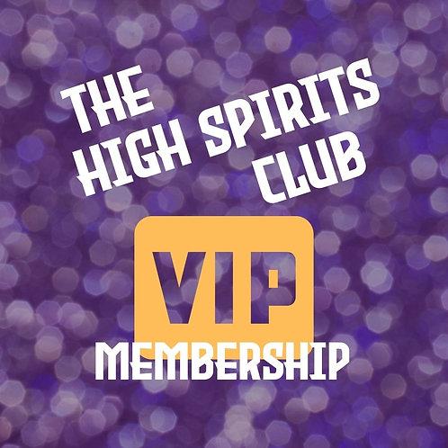 The High Spirits Club VIP Program