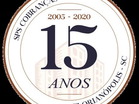 Selo registra 15 anos da SPS Cobranças