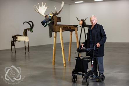 Jimmie Durham, Künstler - Portrait für NZZ am Sonntag