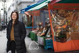 Bettina Oberli, Filmregisseurin - Reportage in Paris für die Schweizer Illustrierte